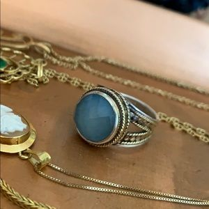 Anna Beck Aquamarine Ring
